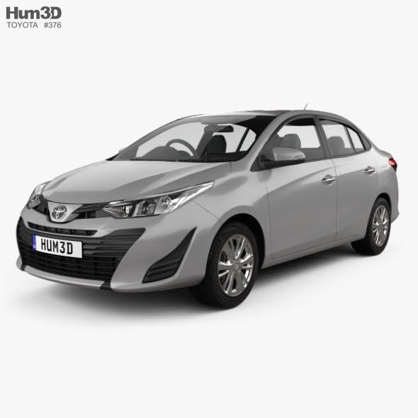 Toyota Yaris TH-spec sedan 2018