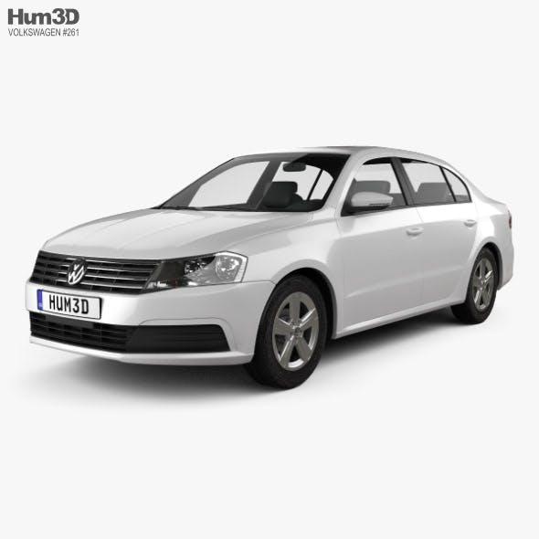 Volkswagen Lavida sedan 2015 - 3DOcean Item for Sale