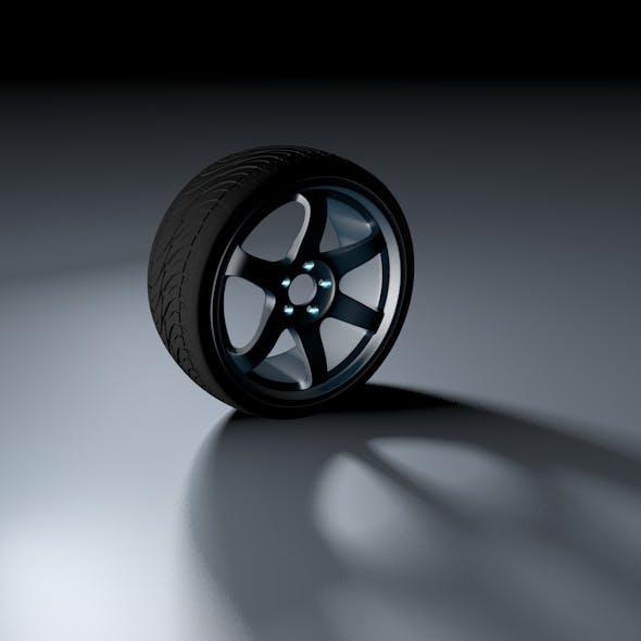 3D Car Rım - 3DOcean Item for Sale