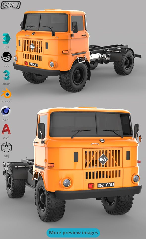 IFA W50 - 3DOcean Item for Sale