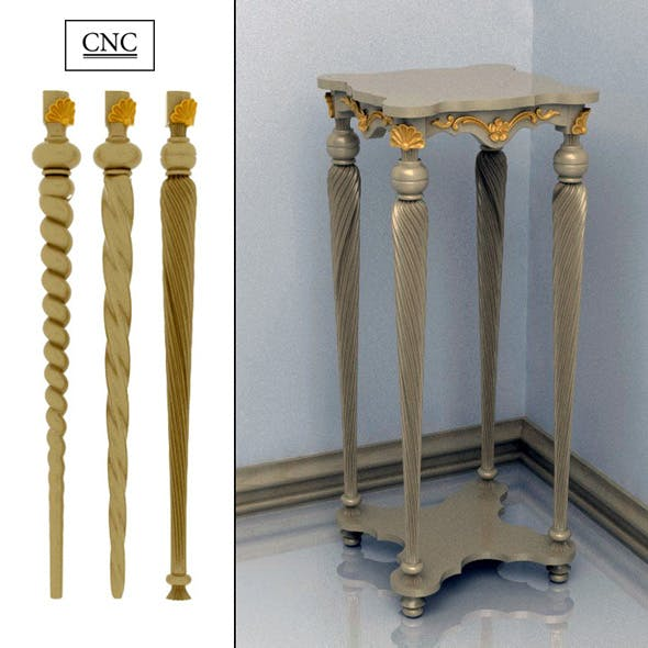Table Stand - 3DOcean Item for Sale