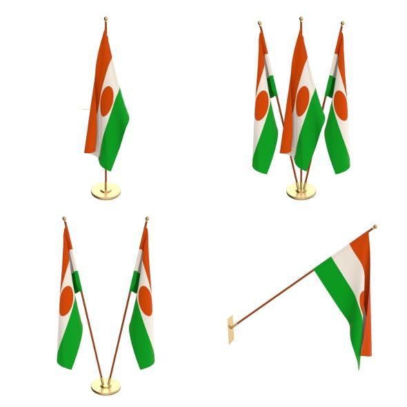 Niger Flag Pack - 3DOcean Item for Sale