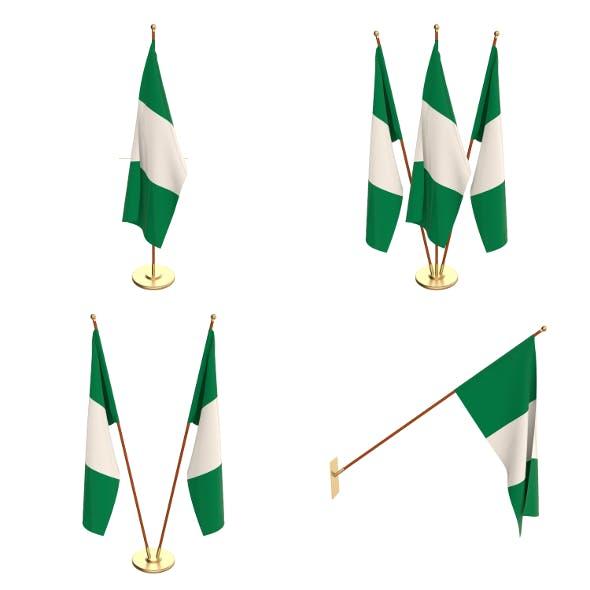 Nigeria Flag Pack - 3DOcean Item for Sale