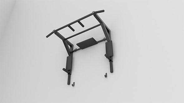 Horizontal bar - 3DOcean Item for Sale