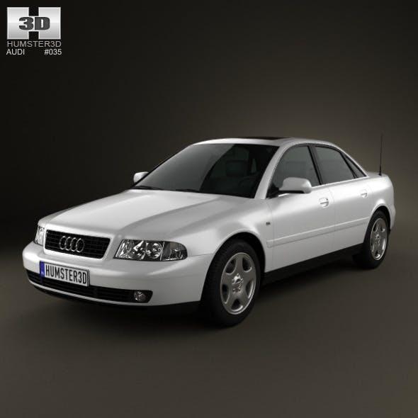 Audi A4 Sedan 1999 - 3DOcean Item for Sale