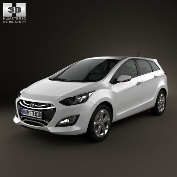 Hyundai i30 (Elantra) Wagon 2013 - 3DOcean Item for Sale