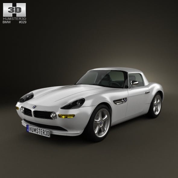 BMW Z8 (E52) - 3DOcean Item for Sale