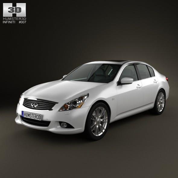 Infiniti G37 Sedan 2011 - 3DOcean Item for Sale