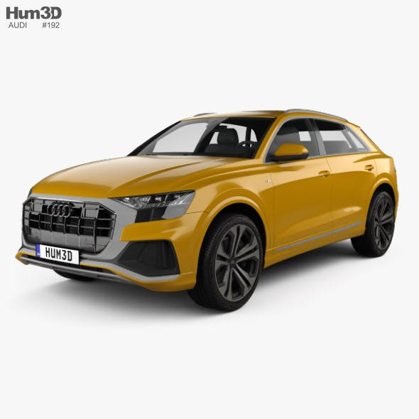 Audi Q8 S-line 2018 - 3DOcean Item for Sale