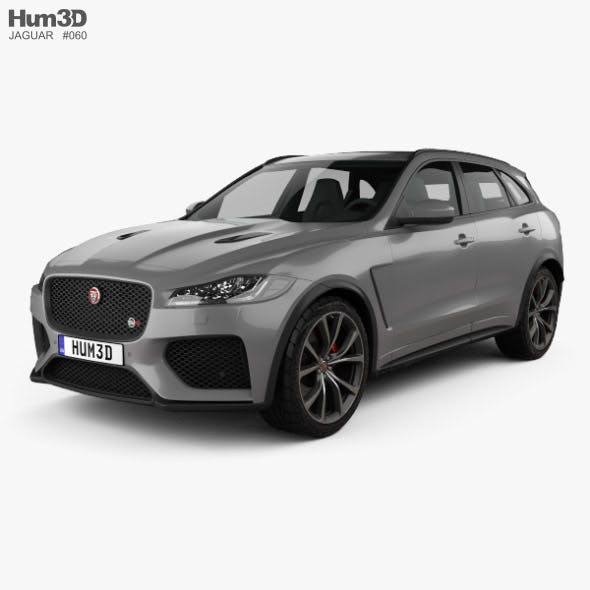 Jaguar F-Pace SVR 2018 - 3DOcean Item for Sale
