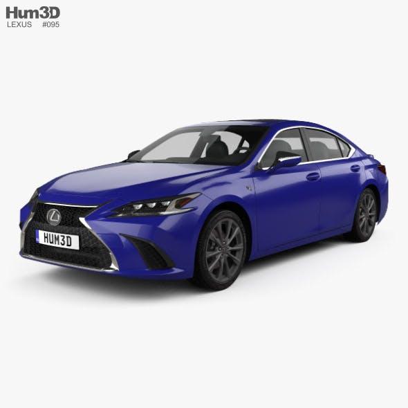 Lexus ES 350h F-sport 2019 - 3DOcean Item for Sale