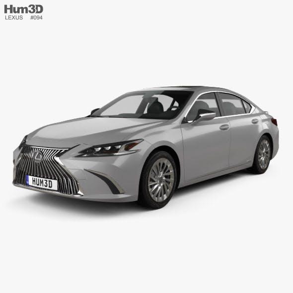 Lexus ES 300h 2019 - 3DOcean Item for Sale