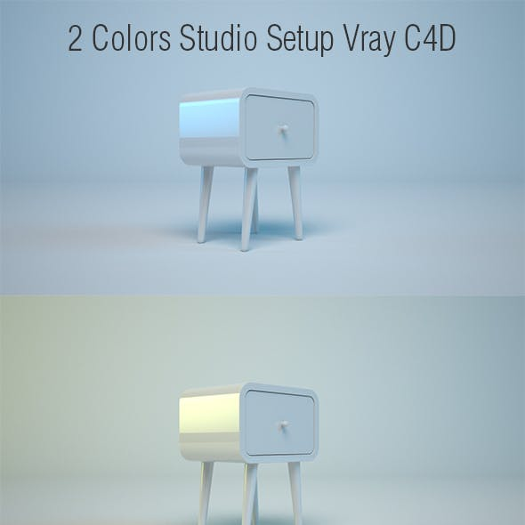 Studio 2 Colors C4D - Vray