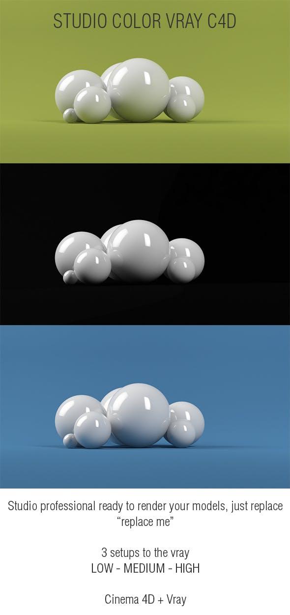 Studio Color Vray - 3DOcean Item for Sale