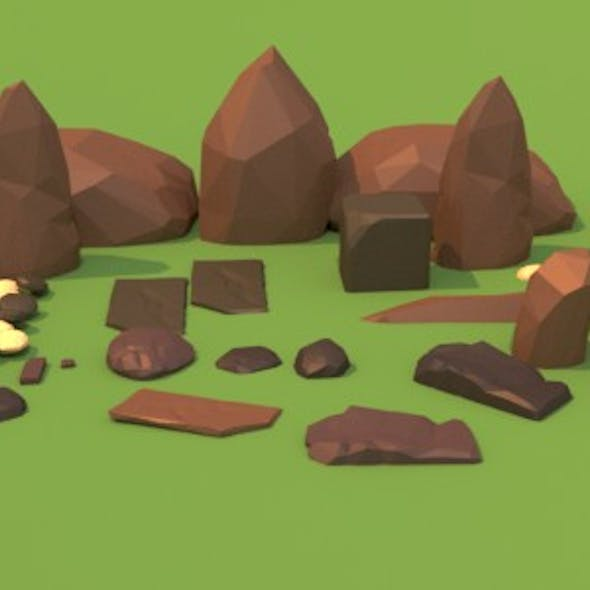 Low_poly Rocks
