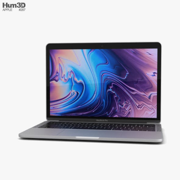 Apple MacBook Pro 13 inch (2018) Touch Bar Silver