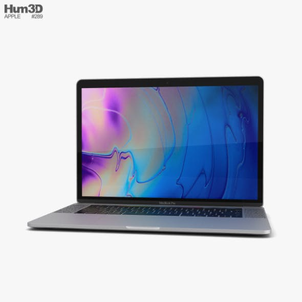 Apple MacBook Pro 15 inch (2018) Silver