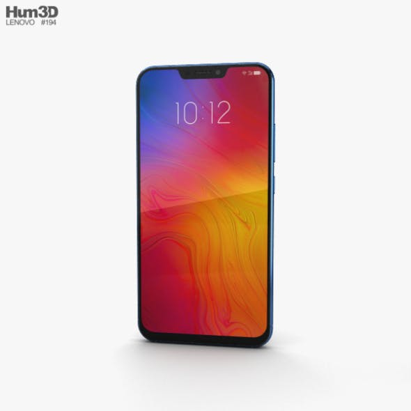 Lenovo Z5 Blue - 3DOcean Item for Sale