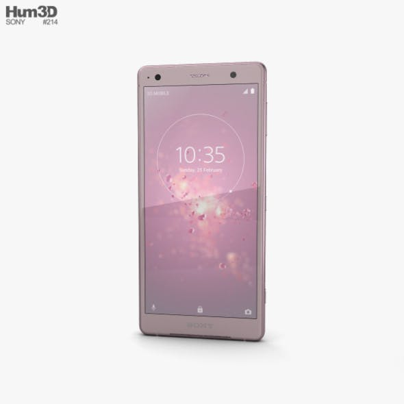 Sony Xperia XZ2 Ash Pink - 3DOcean Item for Sale