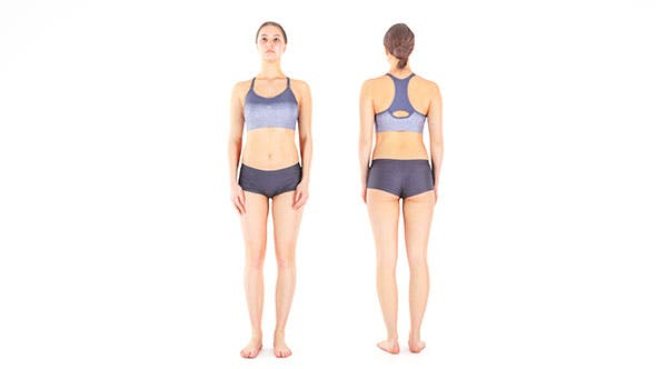 woman sport 10 - 3DOcean Item for Sale