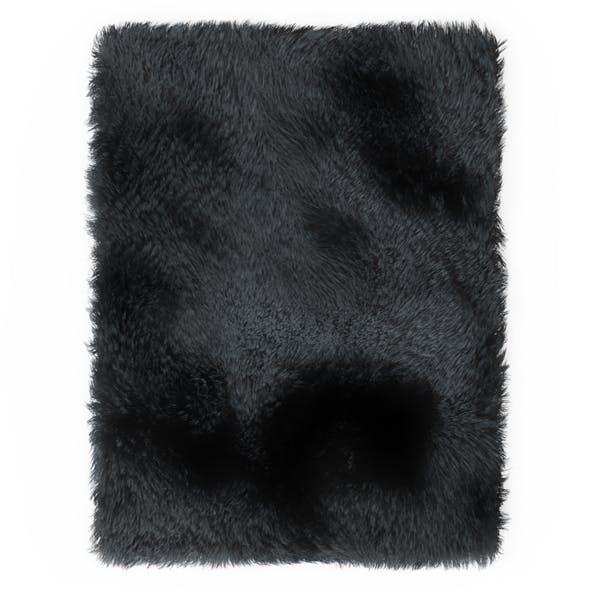 Carpet Fur Gray Shaggi 02