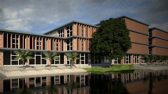 Office Building Design - 3DOcean Item for Sale