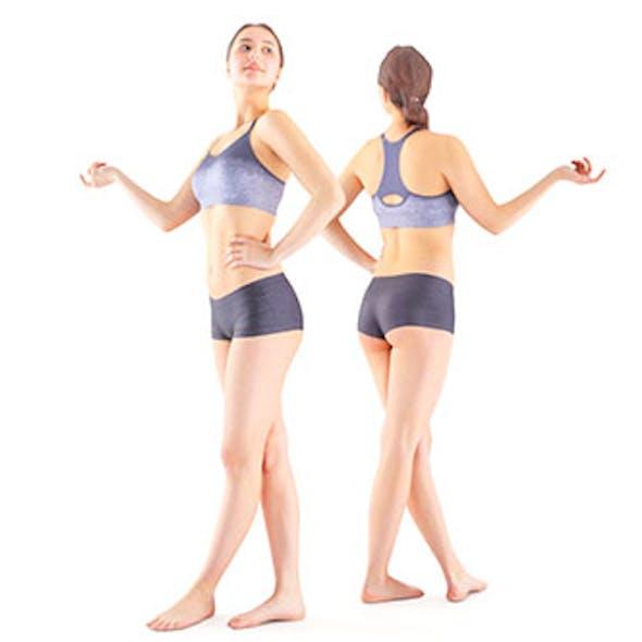 Sporty female 11