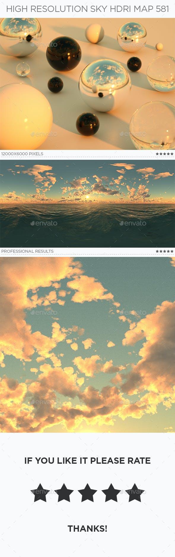 High Resolution Sky HDRi Map 581 - 3DOcean Item for Sale