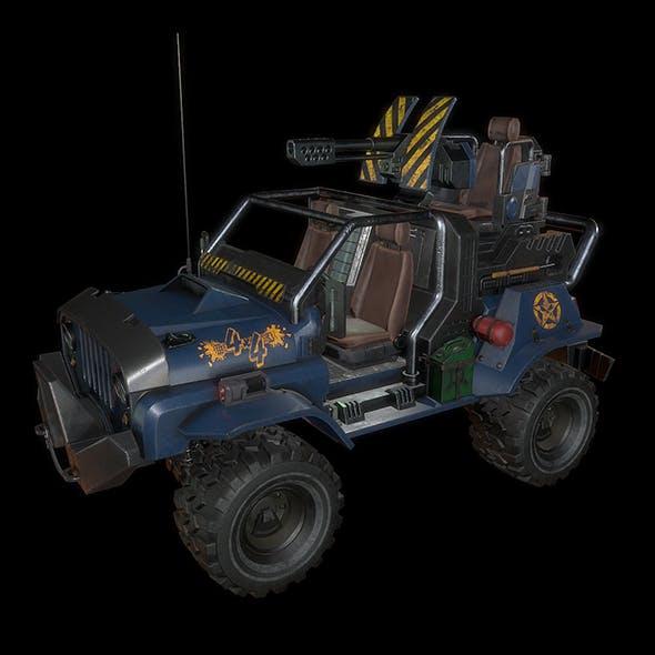Jeep 4x4 LowPoly