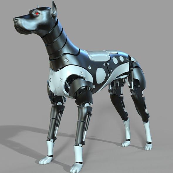 Robot Dog Doberman