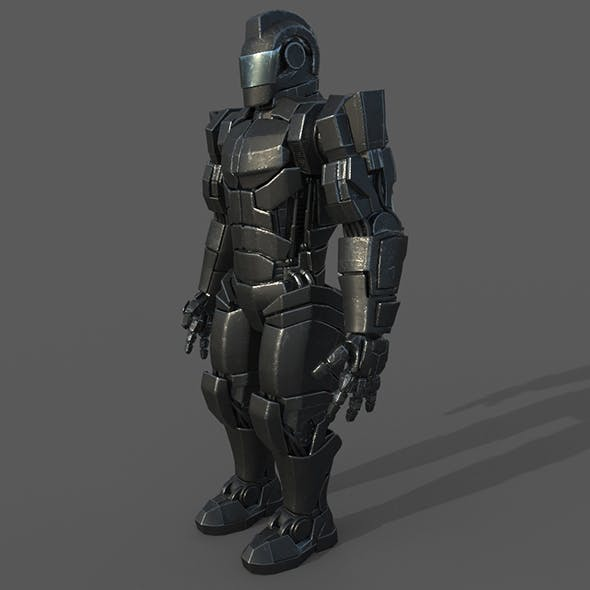 Robot Soldier - 3DOcean Item for Sale