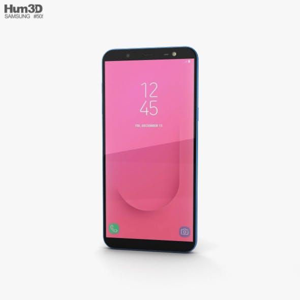 Samsung Galaxy J8 Blue - 3DOcean Item for Sale