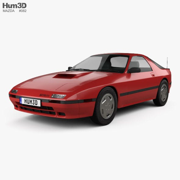 Mazda RX-7 coupe 1985 - 3DOcean Item for Sale
