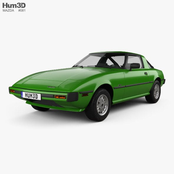 Mazda RX-7 1978 - 3DOcean Item for Sale