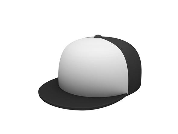 Hip Hop Cap - 3DOcean Item for Sale