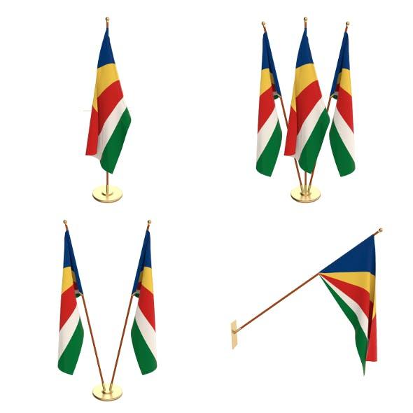 Seychelles Flag Pack - 3DOcean Item for Sale