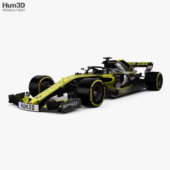 Renault R.S.18 2018 - 3DOcean Item for Sale