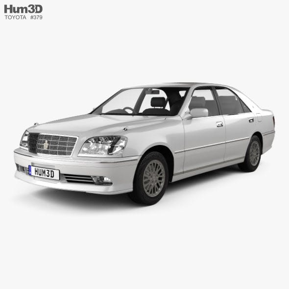 Toyota Crown Royal Saloon 2001 - 3DOcean Item for Sale