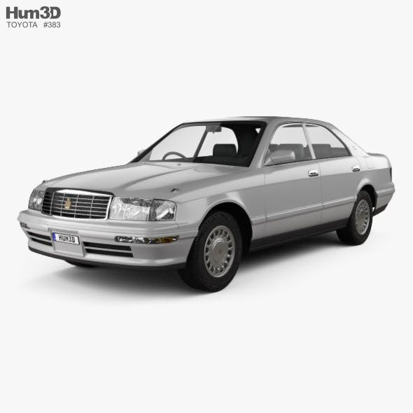 Toyota Crown 1993 - 3DOcean Item for Sale