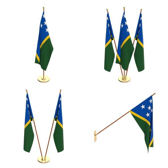 Solomon Islands Flag Pack - 3DOcean Item for Sale