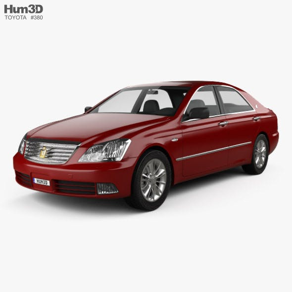 Toyota Crown Royal 2006 - 3DOcean Item for Sale