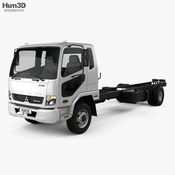 Mitsubishi Fuso Fighter (1227) Chassis Truck 2017 - 3DOcean Item for Sale