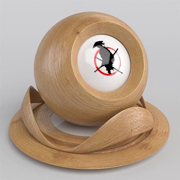 Oak Wood Material - 3DOcean Item for Sale