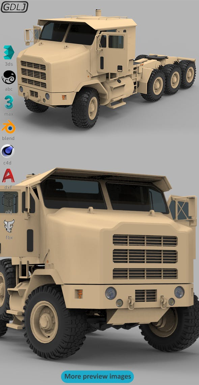 Oshkosh M1070 - 3DOcean Item for Sale
