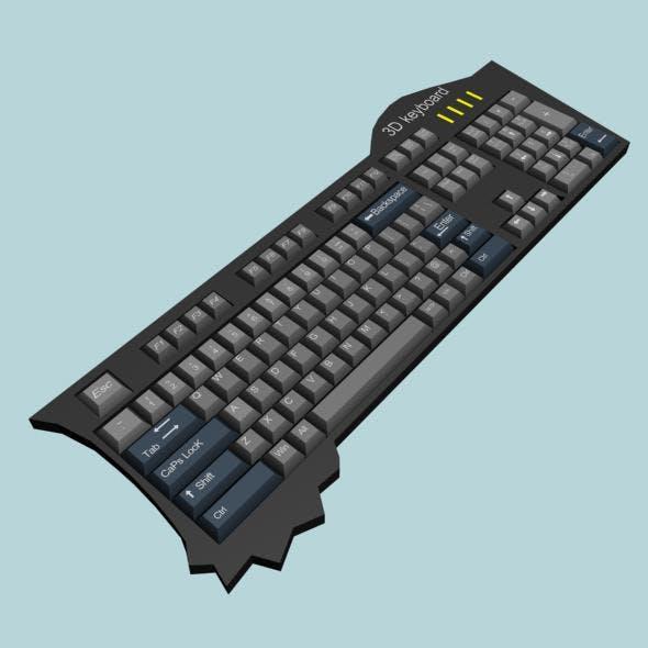 Keyboard - 3DOcean Item for Sale