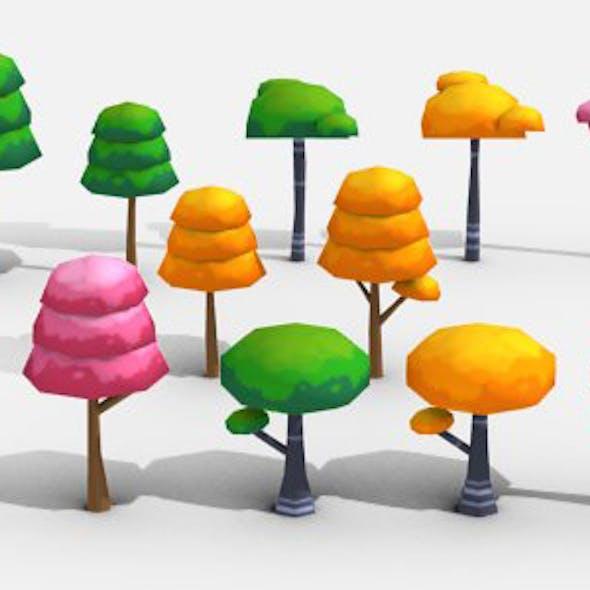 Cartoon Trees