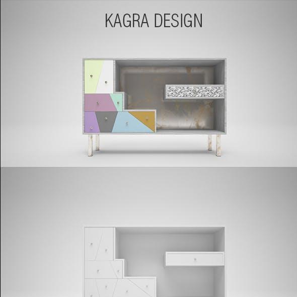 Sideboard  Karga C4D + Vray