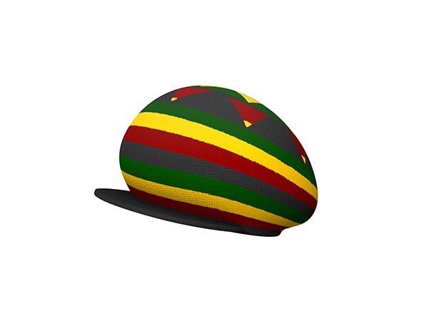 Reggae Cap - 3DOcean Item for Sale