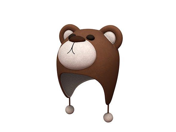 Bear Hat - 3DOcean Item for Sale