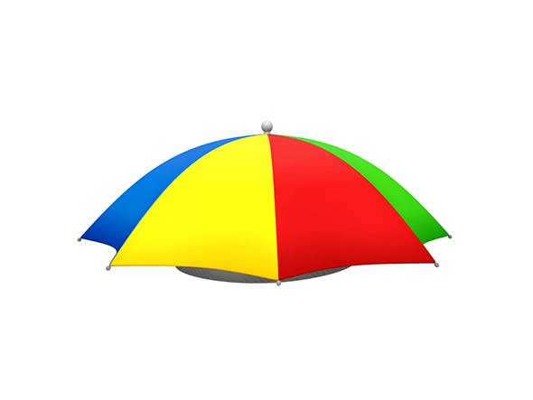 Umbrella Hat - 3DOcean Item for Sale